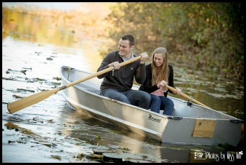 Really Fun Engagement Session Ideas Row Boat Michigan