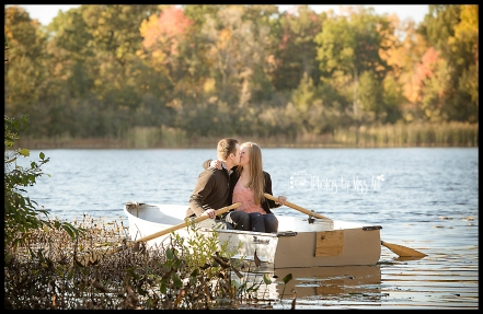 Row Boat Engagement Session Dreamy Kisses on the Lake Photos by Miss Ann Iceland Engagement Session Ideas