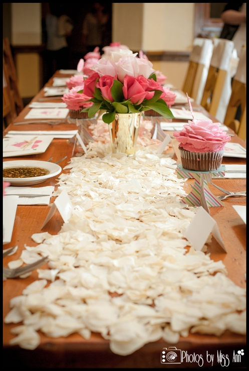 Unique Idea for Table Runners Rose Petal Table Runner Iceland Wedding Planner