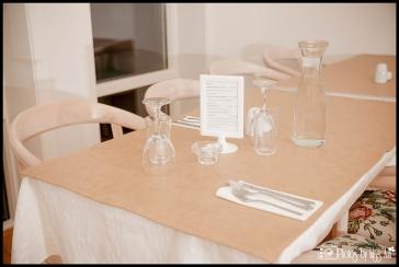 Hotel Laekur Dinner Reception Setup