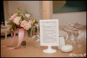 Hotel Laekur Wine List in Dining Area