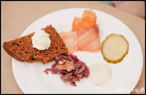 Icelandic Appetizer at Hotel Laekur Hella Iceland