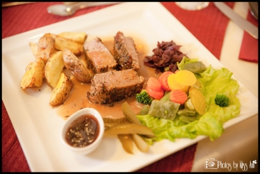 Traditional Icelandic Meal of Lamb from Hali Farm Hofn Iceland