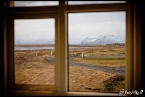 View from Honeymoon Apartment Hali Country Hotel Iceland Wedding Planner