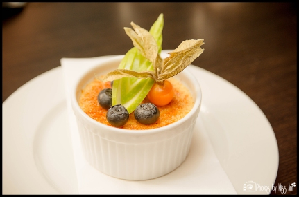 Creme Brulee at Ion Luxury Adventure Hotel Silfra Restaurant