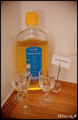 Iceland Liver Oil Shots at Frost and Fires Breakfast