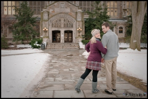 Unique Engagement Session in Ann Arbor Michigan by Photos by Miss Ann