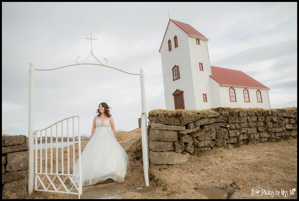 Bride in Iceland Wedding Photographer Photos by Miss Ann