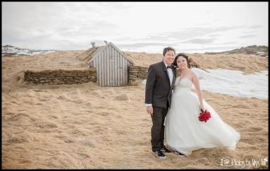 Grass Covered Houses in Thingvellir Park Iceland Wedding Photographer Photos by Miss Ann