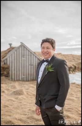 Groom at Thingvellir National Park Iceland Wedding Photographer Photos by Miss Ann