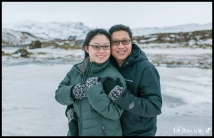 Iceland Destination Wedding Engagement Session at the ION Hotel