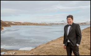 Iceland Elopement at Lakeside Country Church Selfoss Iceland