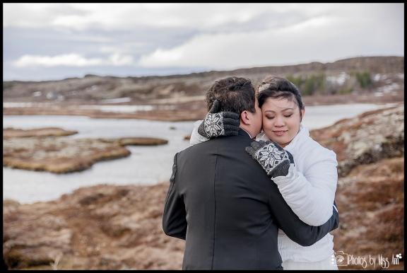 Iceland Elopement Thingvellir National Park Iceland Wedding Photos by Miss Ann
