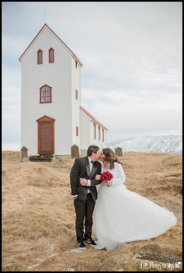 Iceland Wedding Elopement at Historical Church 1864