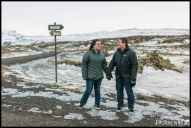 Iceland Wedding Winter Engagement Session Photos by Miss Ann