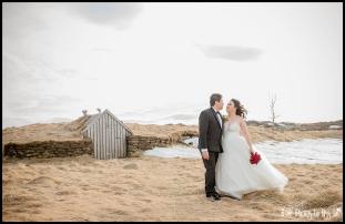 Iceland Winter Wedding Photos at Thingvellir National Park Photos by Miss Ann