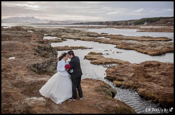 Thingvellir National Park Tectonic Plates Silfra Fissure Iceland Wedding Photos by Miss Ann
