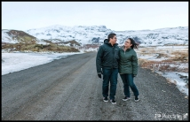 Winter Wedding Photos Iceland Engagement Session ION Hotel