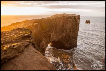 Cliff by Vik Beach Cave Dyrhólaey Cliffs Iceland Wedding Planner