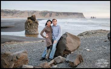Dyrholaey Cliffs Iceland Wedding Anniversary Session Photos by Miss Ann