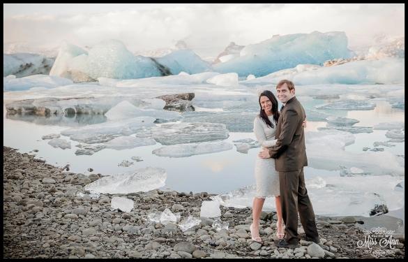 Iceland Wedding Anniversary Ann and Chris Peters Iceland Glacier Lagoon