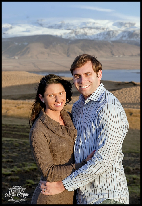 Iceland Wedding Anniversary Photo Session Photos by Miss Ann