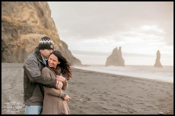 Reynisfjara Beach Wedding Photos Iceland Photos by Miss Ann