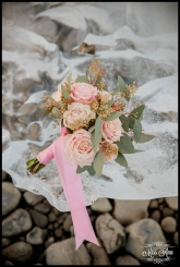 Iceland Wedding Bouquet Jokulsarlon Lagoon Wedding