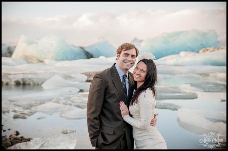 Iceland Wedding Jokulsarlon Glacial Lagoon Photos by Miss Ann