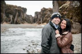 Iceland Winter Wedding Anniversary Session Photos by Miss Ann Iceland Wedding Photographer
