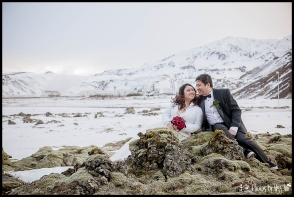 Iceland Winter Wedding Photos at the ION Hotel Photos by Miss Ann