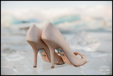 Jokulsarlon Wedding Iceland Wedding Shoe Details