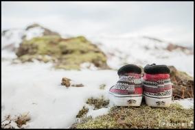 Vans Bridal Shoes for Iceland Wedding