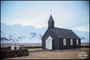 Budir Church Wedding Snæfellsnes Peninsula Iceland Wedding Photographer Photos by Miss Ann