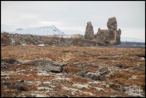Londrangar Basalt Cliffs Iceland Wedding Photographer Photos by Miss Ann