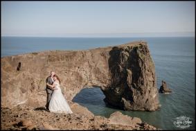Dyrholaey Cliffs Iceland Wedding Photographer 3