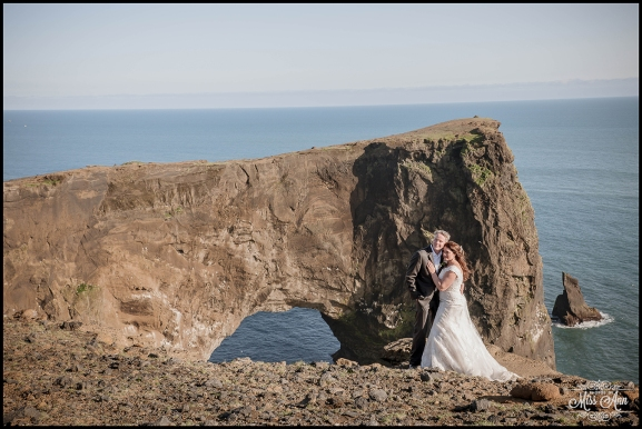 Dyrholaey Cliffs Iceland Wedding Photographer 5