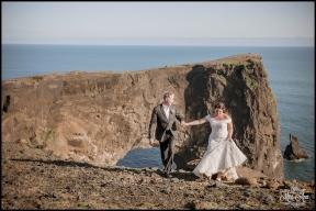 Dyrholaey Cliffs Iceland Wedding Photographer 6