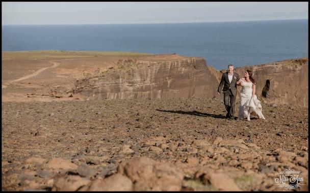 Dyrholaey Cliffs Iceland Wedding Photographer 7