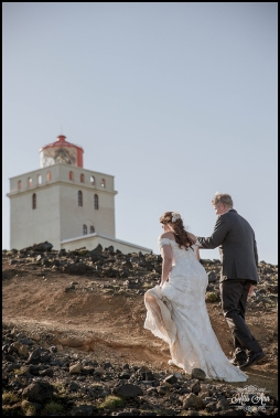 Dyrholaey Cliffs Lighthouse Iceland Wedding Photographer 8