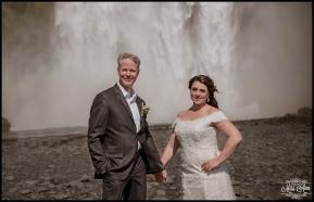 Iceland Wedding Photographer Skogafoss Waterfall 4