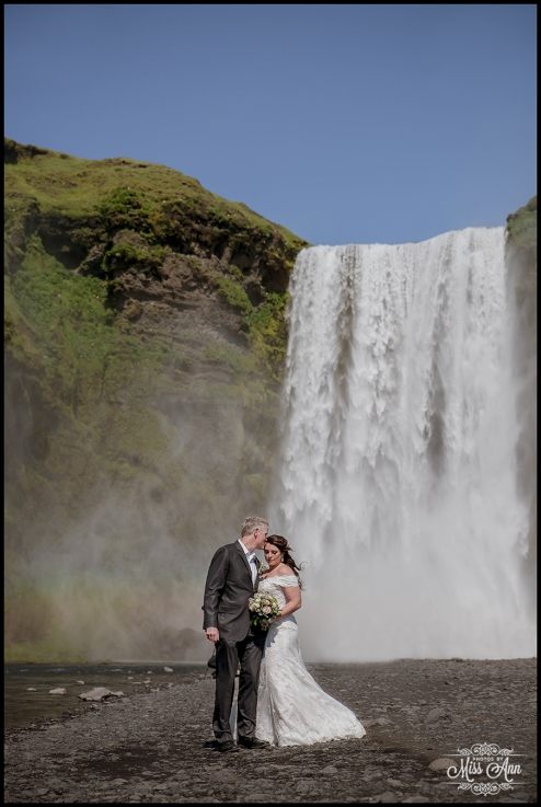 Iceland Wedding Skogafoss
