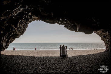 Reynisfjara Wedding Iceland Vik Beach Cave Wedding