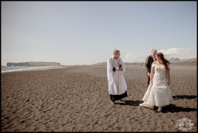 Vik Beach Wedding Iceland