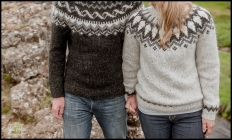 Iceland Engagement Session in Icelandic Sweaters