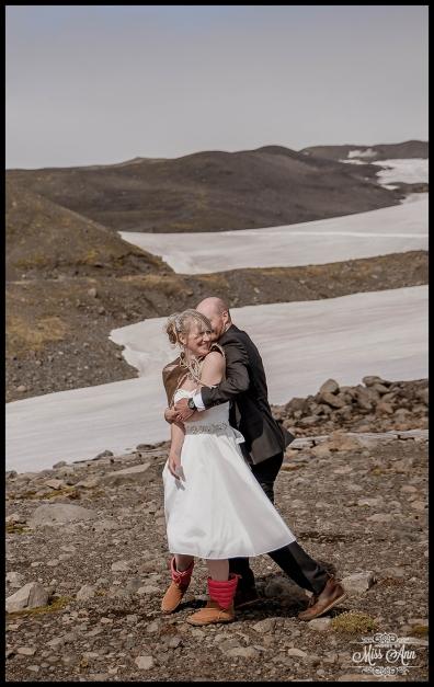 Iceland Glacier Wedding Photographer Photos by Miss Ann-16