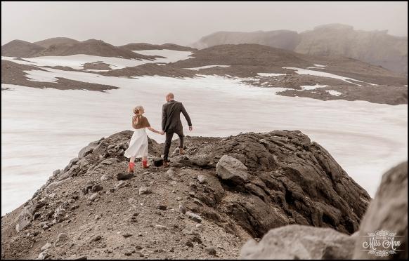 Iceland Glacier Wedding Photographer Photos by Miss Ann-4