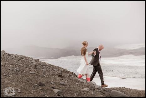 Iceland Glacier Wedding Photographer Photos by Miss Ann-6