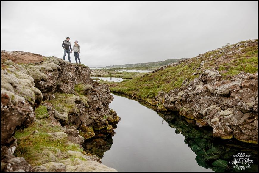 Iceland Tectonic Plate Pre Wedding Session Photographer