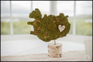 Iceland Wedding Centerpieces Hotel Grimsborgir